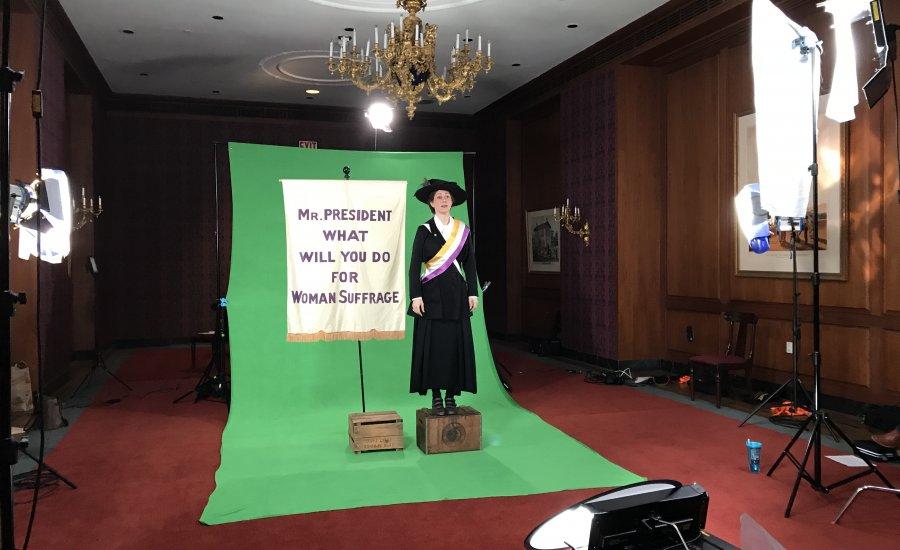 Suffragist Green Screen