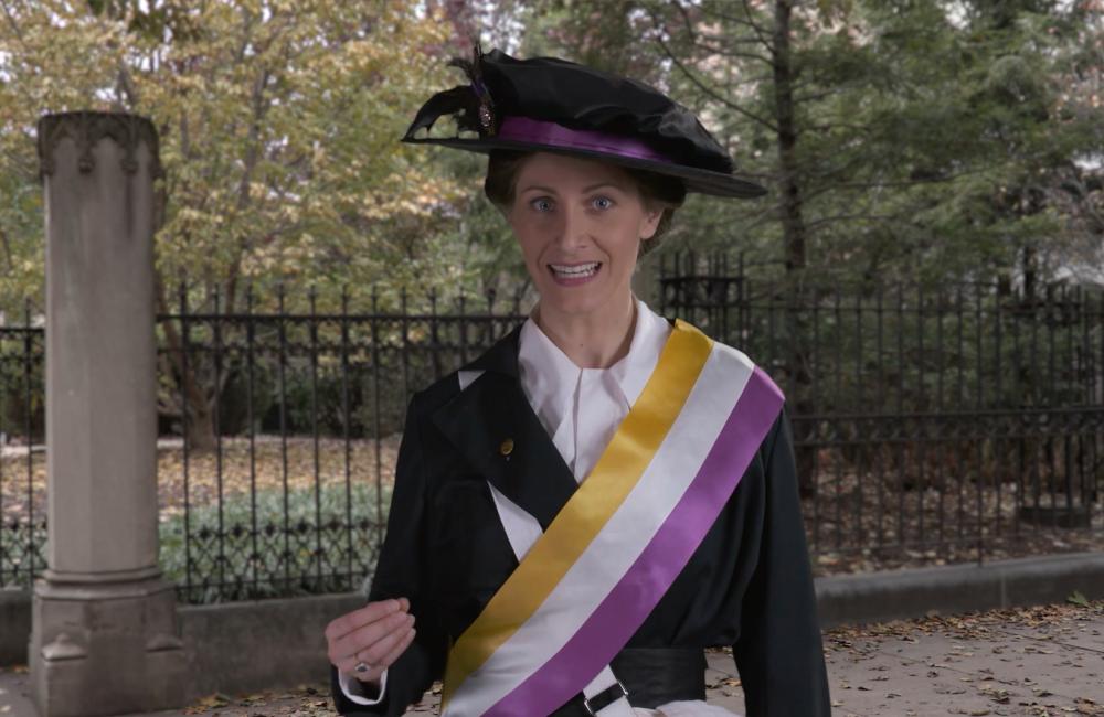 Suffragist Autumn Shot