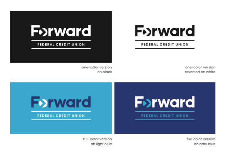 forward multiple logos